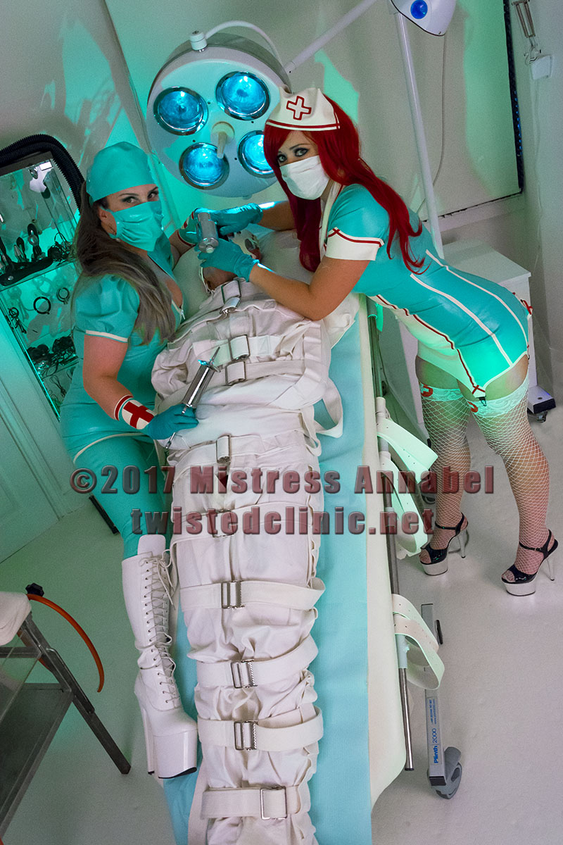 Fetish nurse roleplay undertaken with skill. Many fantasy scenarios to entice your body and mind by London Medical Mistress.